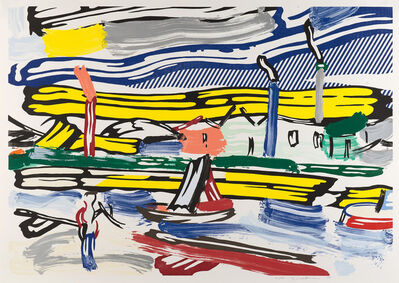 Roy Lichtenstein, 'The River, from The Landscape Series', 1985