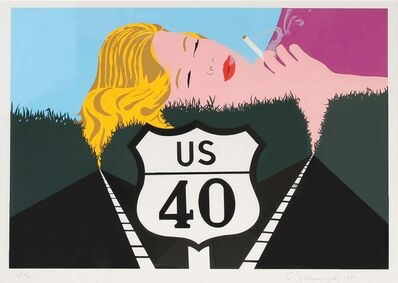 Allan D'Arcangelo, 'Smoke Dreams', 1980