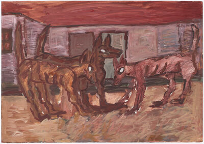 David Koloane, 'Street Dogs 8', 2005