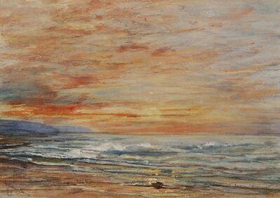 William Gedney Bunce, 'Beach Tides', ca. 1900
