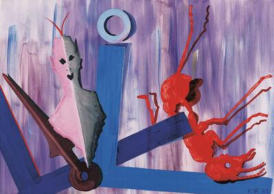 Kiki Kogelnik, 'Red Ant', 1985