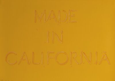 Ed Ruscha, 'Made in California (E. 52)', 1971