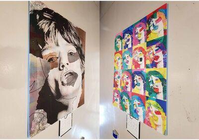 Patrick Rubinstein, 'Jagger or et argent ', 2018