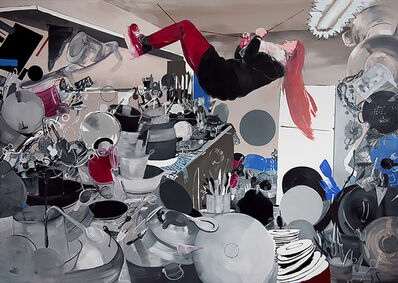 Pola Dwurnik, 'Stunt Woman', 2015