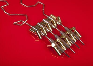 Arnaldo Pomodoro, 'Kinetic pendant with cylinders', 1967