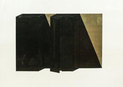 Giuseppe Uncini, 'Dimore', 1979