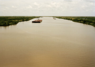 Victoria Sambunaris, 'Untitled (tanker, Eagle Stealth, Marshall Is.), Houston Ship Channel, Texas, 2015', 2015