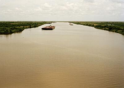 Victoria Sambunaris, 'Untitled (tanker, Eagle Stealth, Marshall Is.), Houston Ship Channel, Texas, 2015', 2015