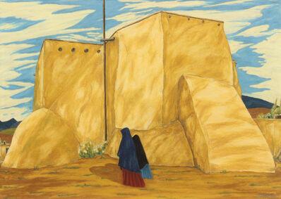 Emil Bisttram, 'Ranchos de Taos Church'