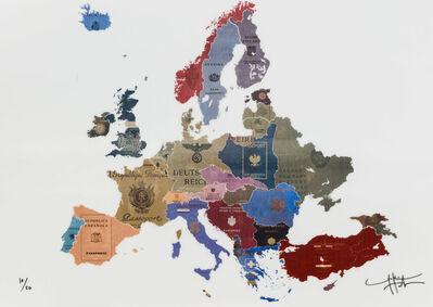 Yanko Tihov, 'Europe 1930's Lenticular', 2017