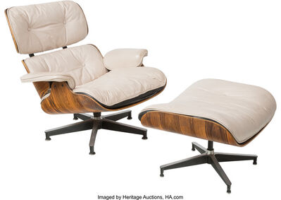 Charles Eames, '670 Armchair and 671 Ottoman', designed 1956