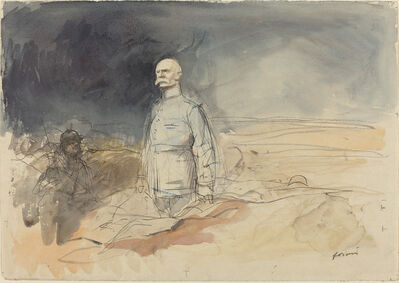 Jean-Louis Forain, 'Marshal Petain', ca. 1914/1919