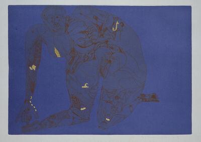 "Francesco Clemente, 'Riconciliazione (from the portfolio ""For Joseph Beuys"")', 1986"