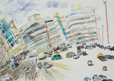 Olive Ayhens, 'Parking Lot', 2015