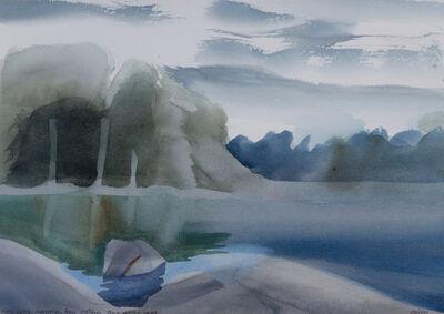 Toni Onley, 'Pike Lake, Georgian Bay, Ontario', 1987