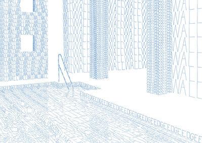 Thomas Broomé, 'Modernmantra (Pool)', 2005