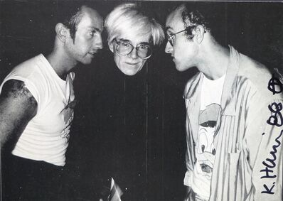 Keith Haring, 'Kenny Scharf  Andy Warhol  Keith Haring', 1985-1987