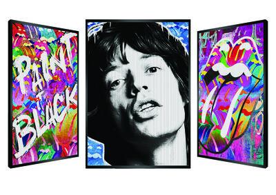 Patrick Rubinstein, 'Art is Jagger', 2019
