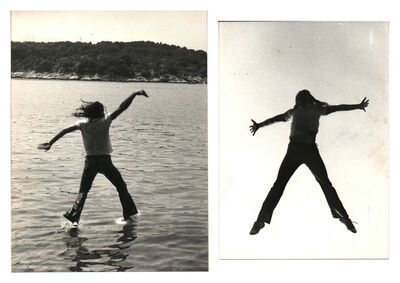 Braco Dimitrijevic, 'Moving in the fluids. Diptych', 1971