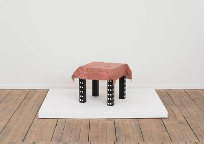 Tanya Aguiñiga, 'Soothe Table (Protect)', 2015
