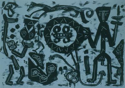 A.R. Penck, 'Ohne Titel', 1988