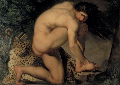 Nicolai Abildgaard, 'The Wounded Philoctetes', 1775