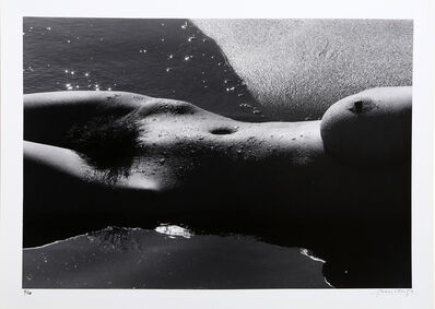 Lucien Clergue, 'Nu de la Mer', ca. 1979