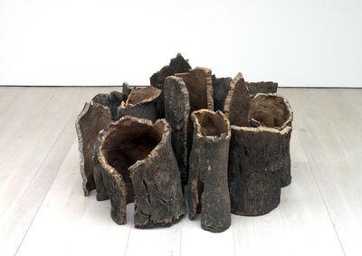 David Nash, 'Cork Rotunda', 2014