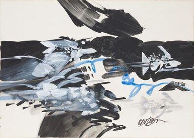 Alejandro Obregón, 'Detalle de un océano', 1987 C. a