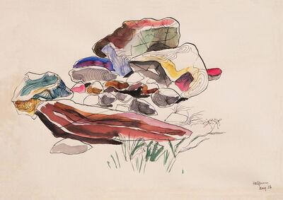 Lawrence Halprin, 'Rock Study', 1956