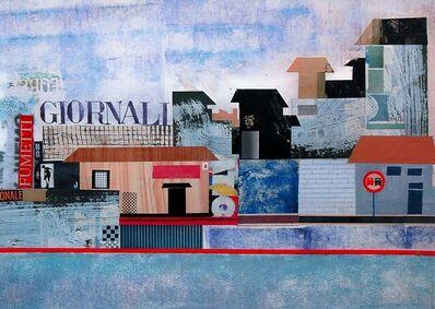 Pino Pascali, 'Giornali - Pubblicità Algida', 1964