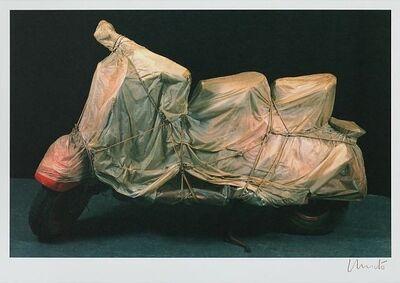 Javacheff Christo, 'Wrapped Vespa, 1963', 2001