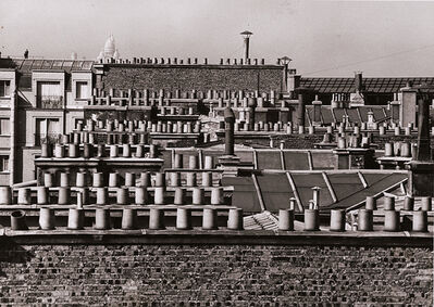 André Kertész, 'Chimneys of Paris', 1929 / 1960c