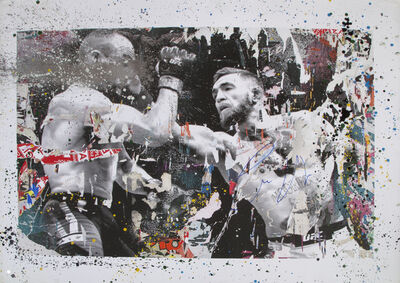 Mr. Brainwash, 'Conor McGregor vs Eddie Alvarez', 2017