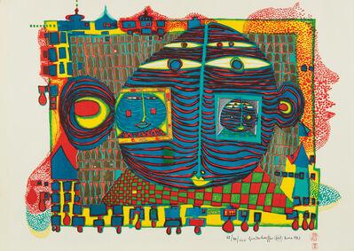 Friedensreich Hundertwasser, 'Goodbye from Africa', 1967