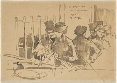 Édouard Manet, 'The Railway Restaurant', ca. 1879