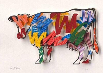 David Gerstein, 'Brush strokes cow', 2007
