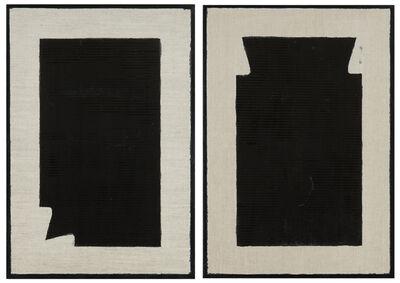 Stefano Cumia, 'SCP Black 2k + SCP Black 2kb (dittico)', 2014