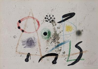 Joan Miró, 'Maravillas con Variaciones', 1975