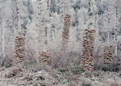 Rune Guneriussen, 'Colums of production', 2014