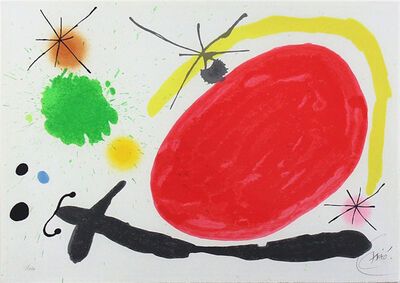 Joan Miró, 'La Japonaise (The Japanese Woman)', 1971