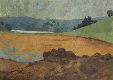 Paul Sérusier, 'Bord de mer en Bretagne ', 1922