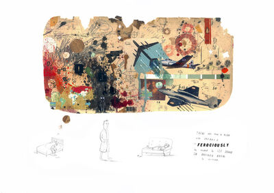 Oliver Jeffers, 'Ferocious Dream', 2011