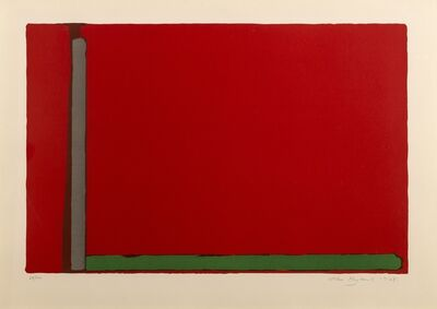 John Hoyland, 'Large Swiss Red', 1968