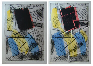 Oleg Kudryashov, 'Composition (Diptych)', 1991