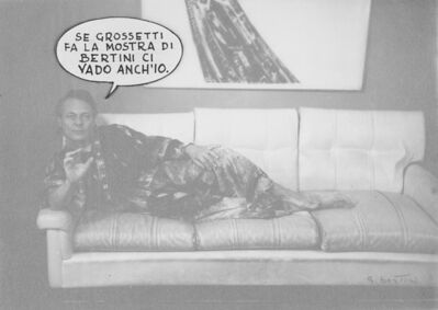 Gianni Bertini, 'Da Bertini ci vengo anch'io'