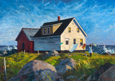 Mark Beck, 'The Windy Coast of Maine', 2019
