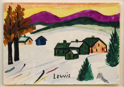 Maud Lewis, 'Christmas Card'