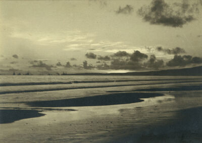 Anne Brigman, 'Long Beach, from Palos Verdes', 1937