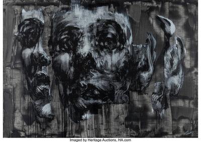 Tom French, 'Dualism 2-Black', 2013